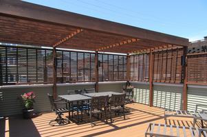 Chicago Rooftop Unique Deck Builders Project