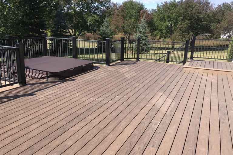 Outdoor Living spaces composite decking