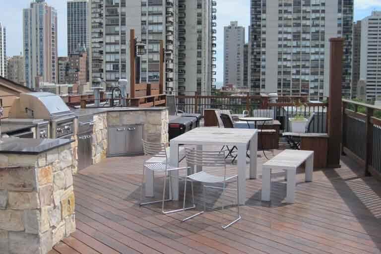 Custom Rooftop Deck