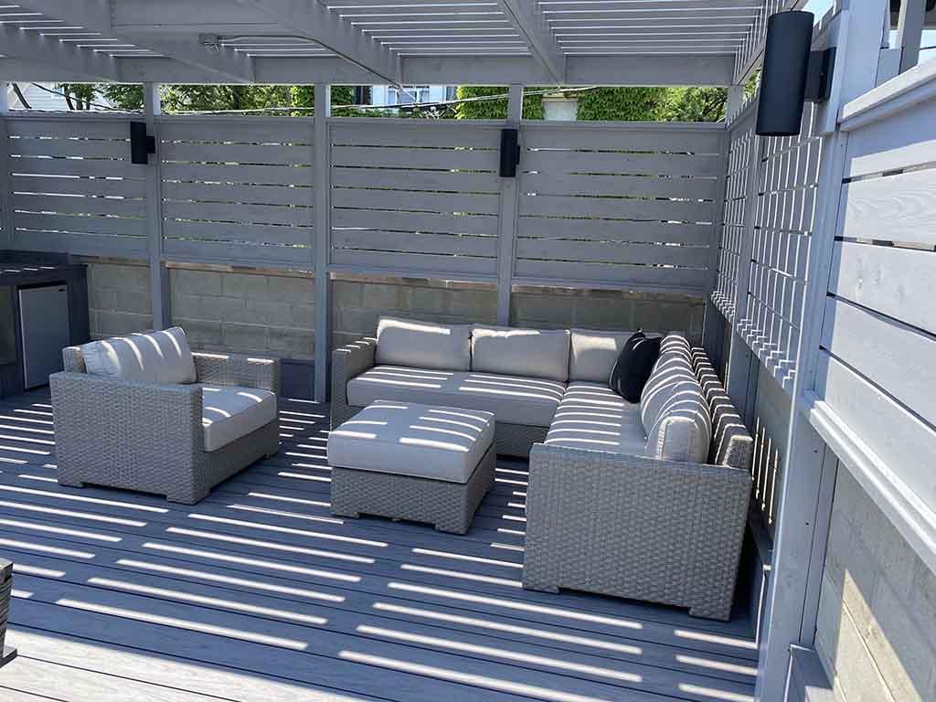 Unique Deck Builders Pergola Project