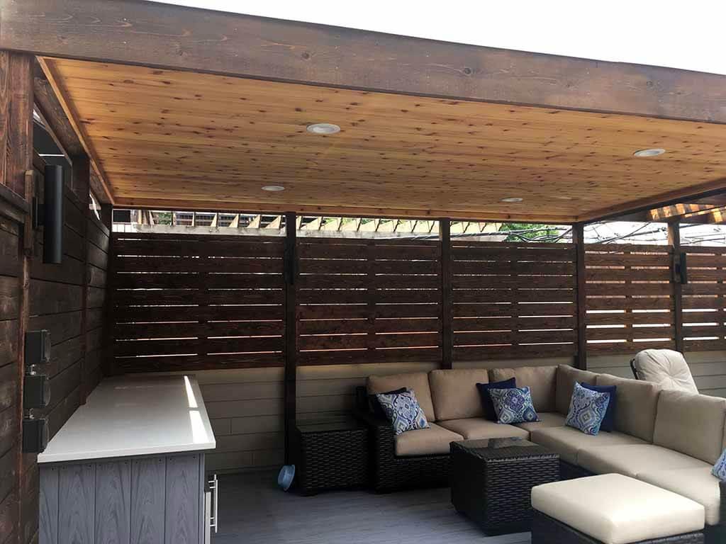 Unique Deck Builders Pavilion